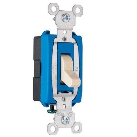 1 Pole 15 Amp (Pass & Seymour - CS15AC1I - 15 Amp - Ivory - 1 Pole - 120/277 Volt - Commercial Grade Switch )