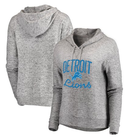 timeless design 8ecfd 4cd70 Detroit Lions NFL Pro Line by Fanatics Branded Women's Cozy Steadfast  Pullover Hoodie - Heathered Gray