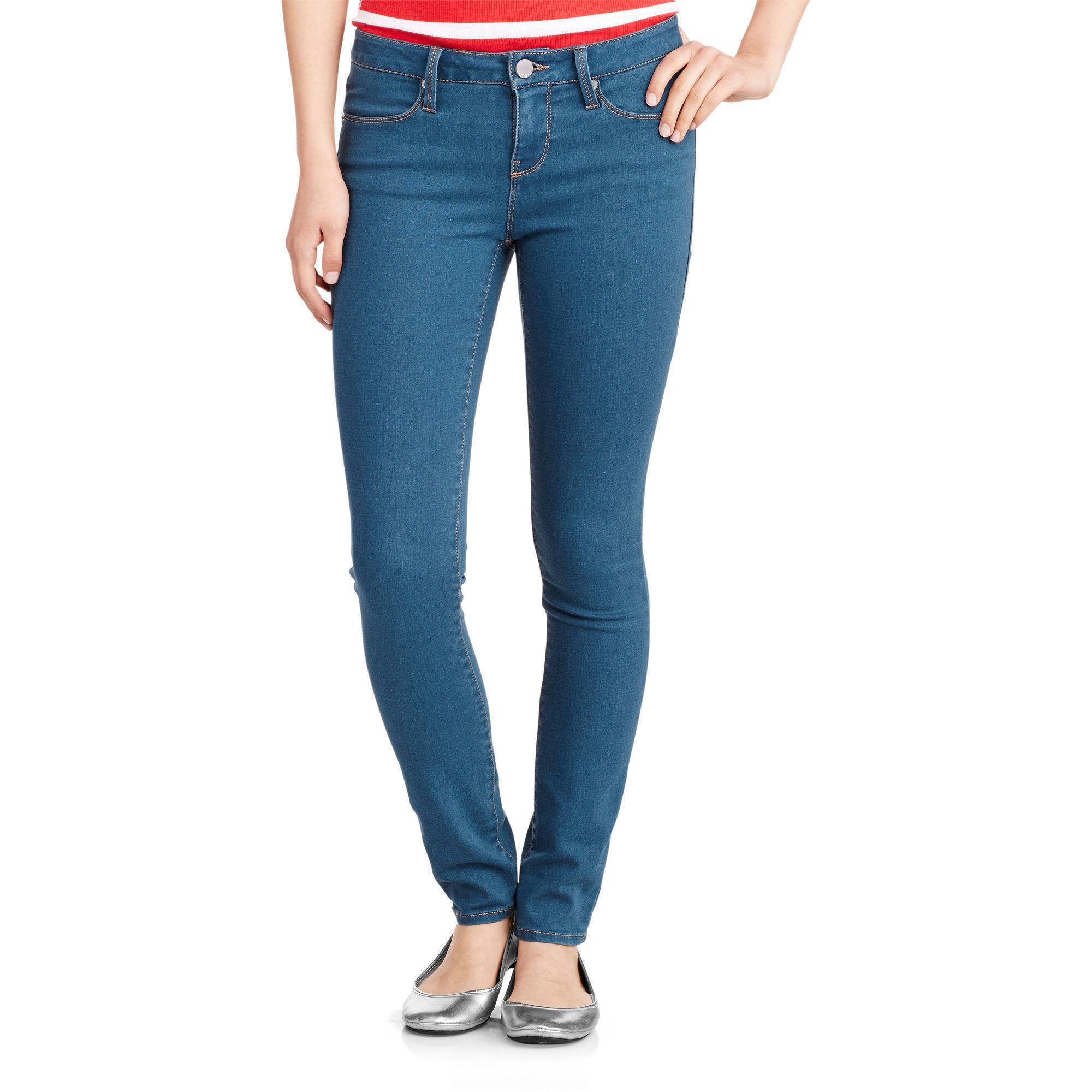 No Boundaries Juniors' Classic Skinny Jeans - Walmart.com