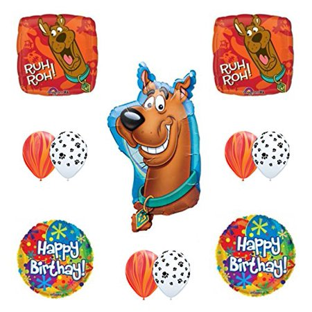 Scooby Doo Birthday Party Supplies Balloon Bouquet - Scooby Doo Birthday Supplies