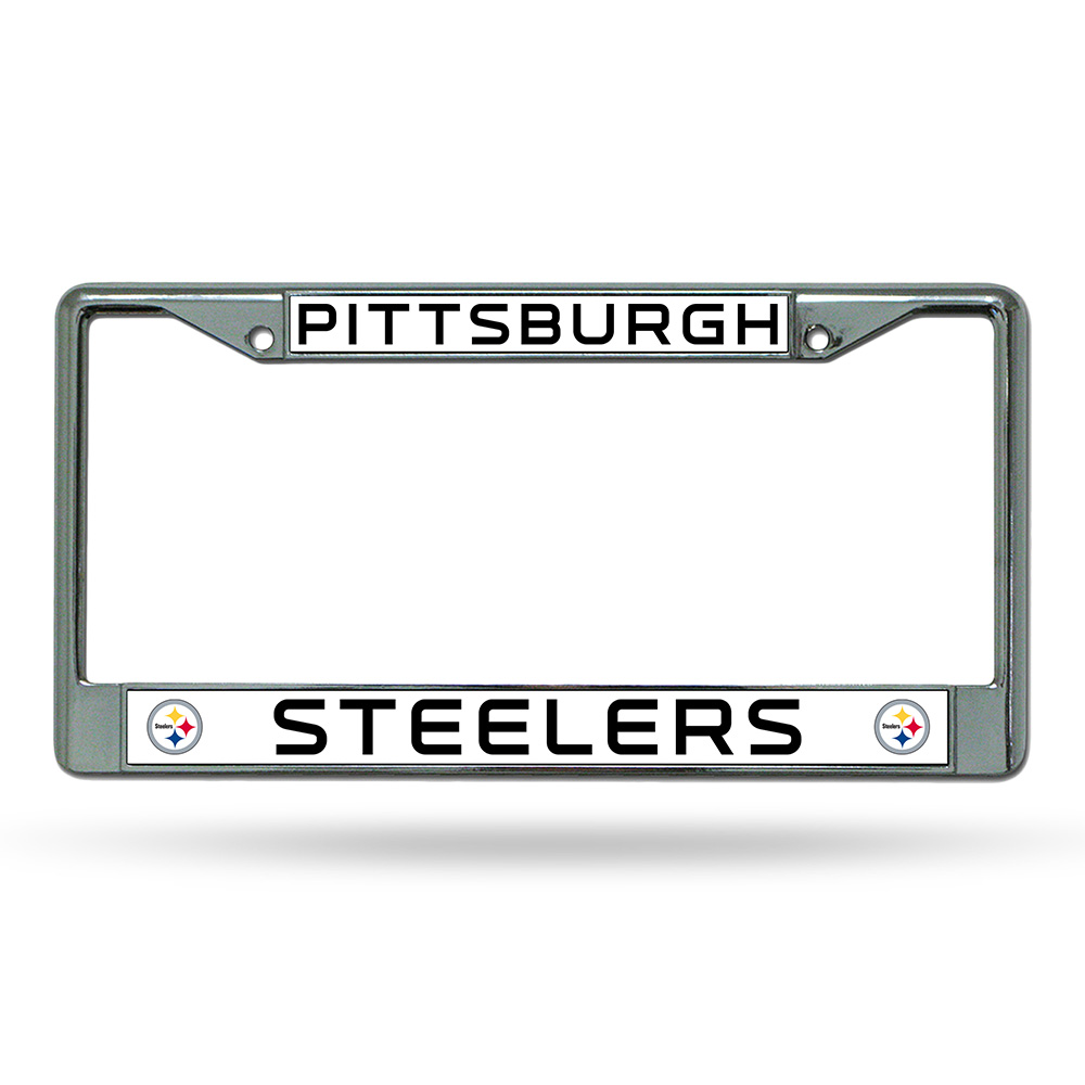 Pittsburgh Steelers NFL Chrome License Plate Frame