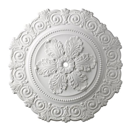 "Elk Lighting Marietta 33"" Medallion Ceiling Canopy in White"