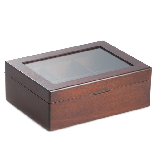 Bey-Berk 6 Compartment Tea Box