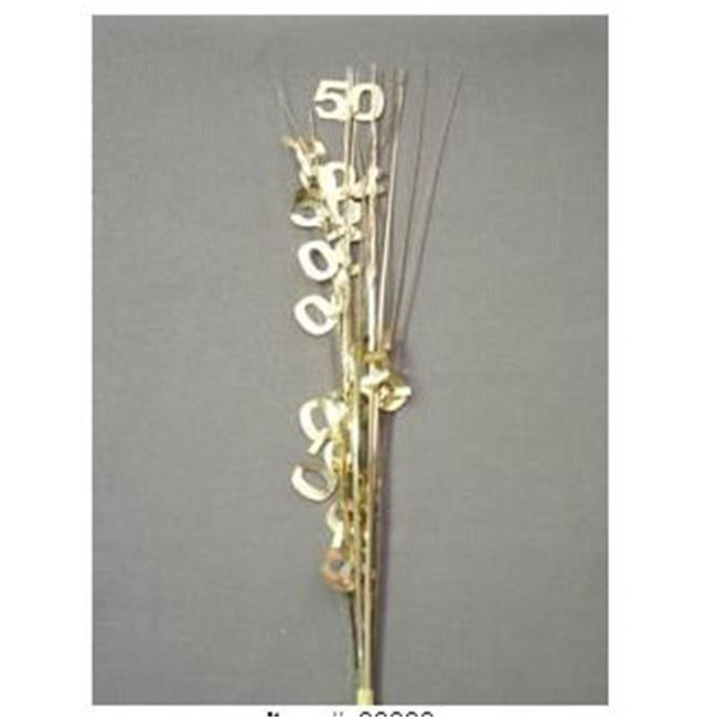 21 in. Gold 50 Spray - Pack of 13