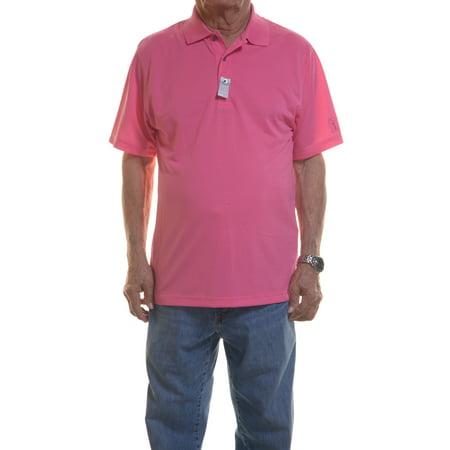 Pga Tour Pink Shirt Long Sleeve Size M Nwt   Movaz