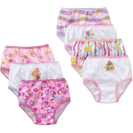 Toddler Girls Underwear, 7 Pack