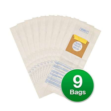 Replacement Vacuum Bag for Hoover 4010100Y / 856-9 (Single Pack) Replacement Vacuum Bag