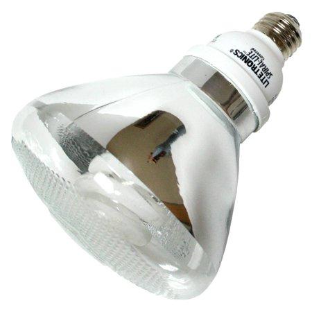 Litetronics 58600 - L-23527P38 23W PAR38 MED Flood Screw Base Compact Fluorescent Light Bulb