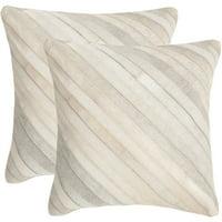 Safavieh Cherilyn Pillow, Multiple Colors, Set of 2