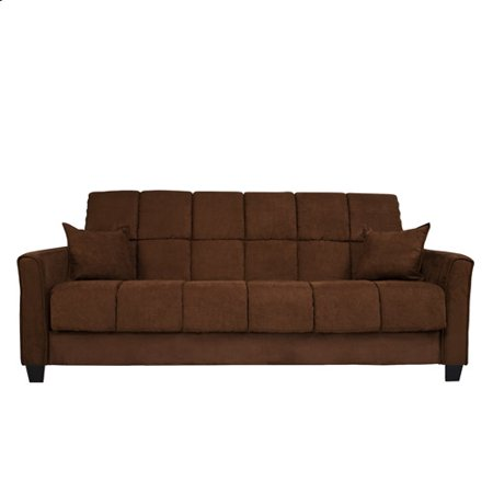 Baja Convert A Couch Futon Sofa Bed Dark Brown