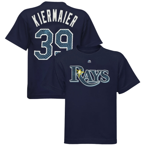 Kevin Kiermaier Tampa Bay Rays Majestic Youth Player Name & Number T-Shirt - Navy