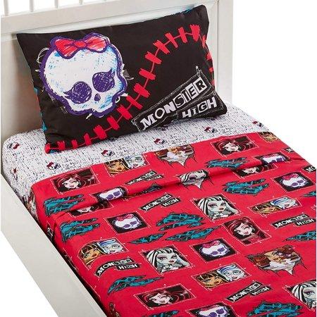 Mattel Monster High All Ghouls Allowed Bedding Sheet Set