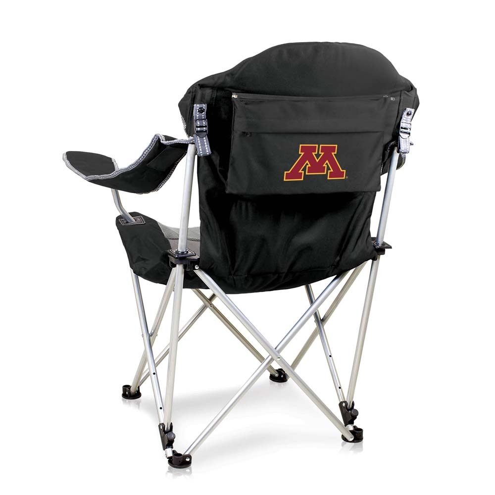 Minnesota Reclining Camp Chair (Black)