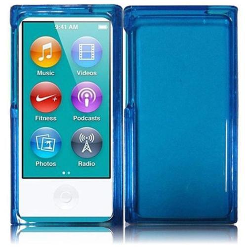 Insten For Apple Ipod nano 7 Honey Phone Hard Case Blue