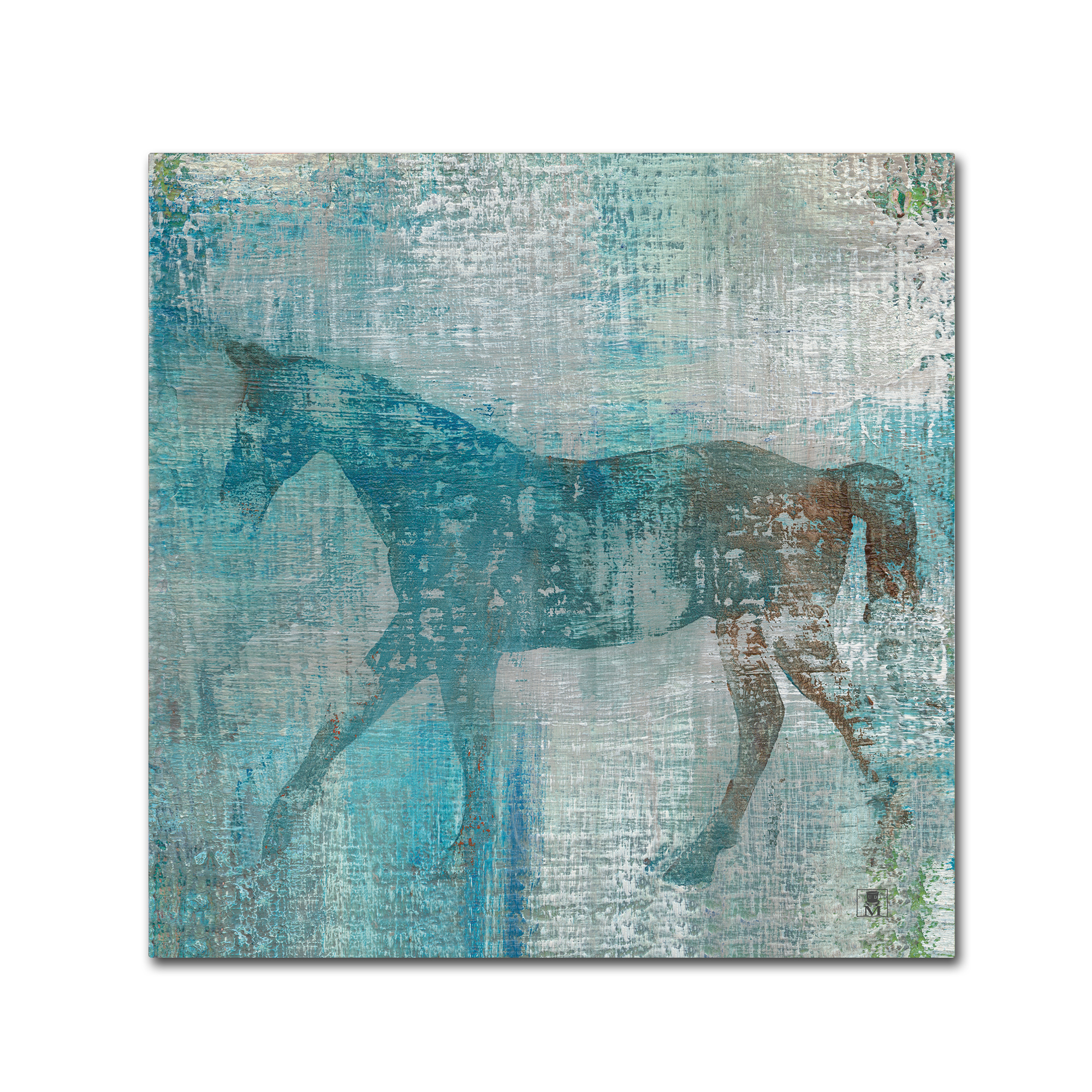 Trademark Fine Art 'Cheval I Flipped' Canvas Art by Studio Mousseau