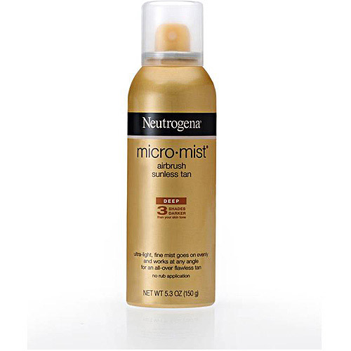 Neutrogena MicroMist Airbrush Sunless Tan Spray, 5.3 oz