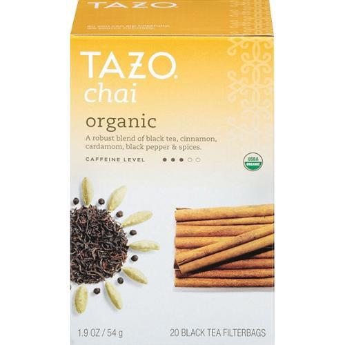 Black Tea-Chai Organic Tazo Teas 20 Bag