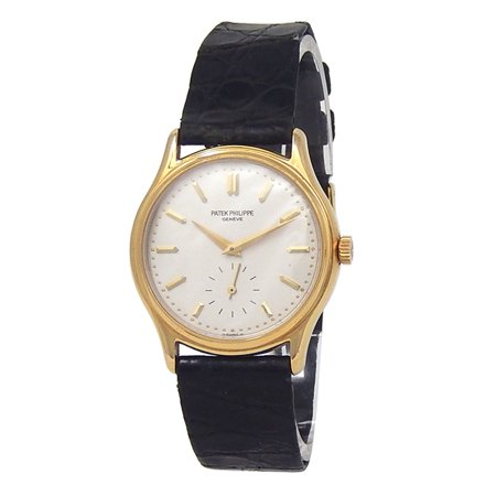 Pre-Owned Patek Philippe Calatrava 3923 Gold 32mm Watch (Certified Authentic & Warranty)