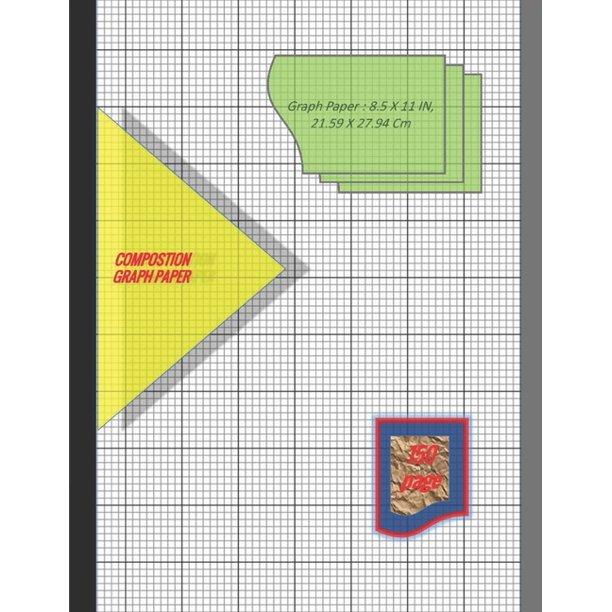 Graph Paper Notebook 8.5 X 11 IN, 21.59 X 27.94 Cm : 1