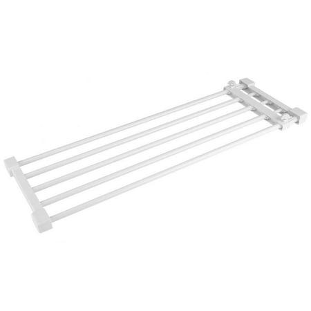 Yosoo Adjustable Telescopic Storage Rack Cupboard Wardrobe Closet Divider Partition Shelf, Adjustable Cupboard Rack, Wardrobe Partition - Diy Shelf Dividers