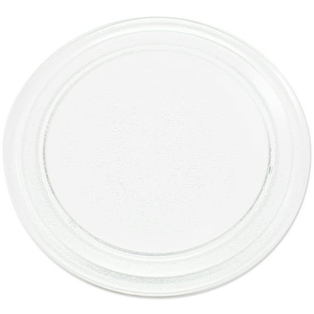 "Replacement Sunbeam SBM7700W Microwave Glass Plate  - Compatible Sunbeam 3390W1A035 Microwave Glass Turntable Tray - 9 5/8"" (245 mm)"