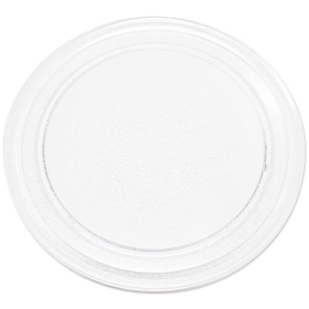 """2-Pack Replacement Oster OM0701A8B Microwave Glass Plate - Compatible Oster 3390W1A035 Microwave Glass Turntable Tray - 9 5/8"""" (245 mm) - image 1 de 4"""