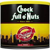 Chock full o' Nuts Original Blend Ground Coffee, Medium Roast, 26 Ounce Can