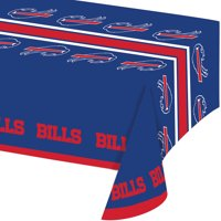Buffalo Bills Plastic Tablecloths, 3 Count