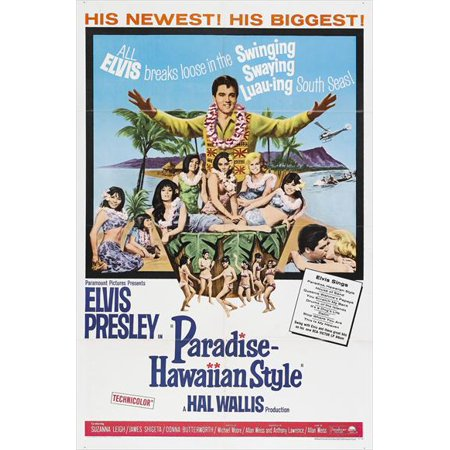 Paradise Hawaiian Style (1966) 27x40 Movie Poster - 1966 Batman Movie Poster