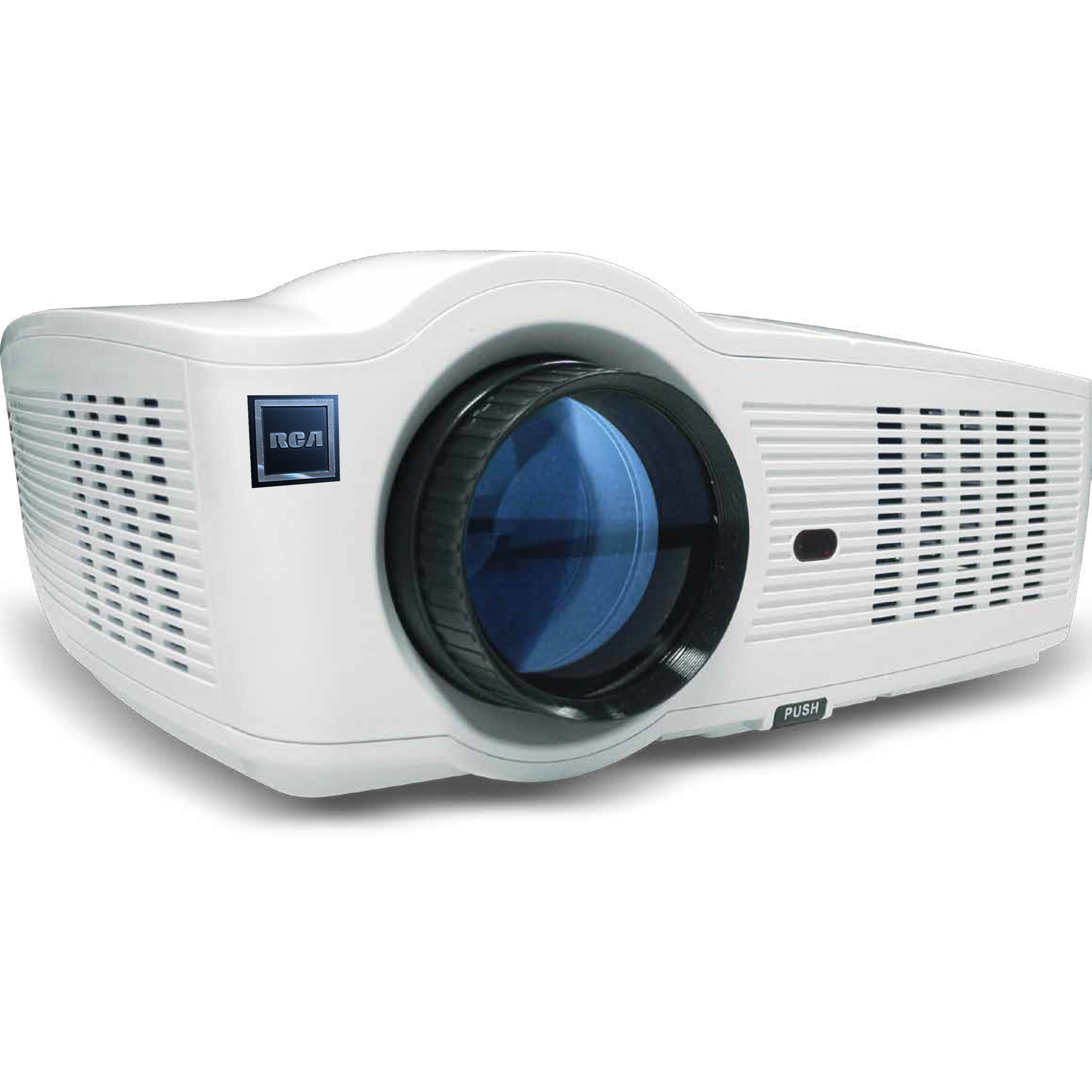 RCA RPJ129 Smart Wi-Fi LED Home Theater Projector, 720p