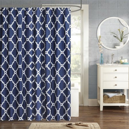 Home Essence Becker Printed Shower Curtain
