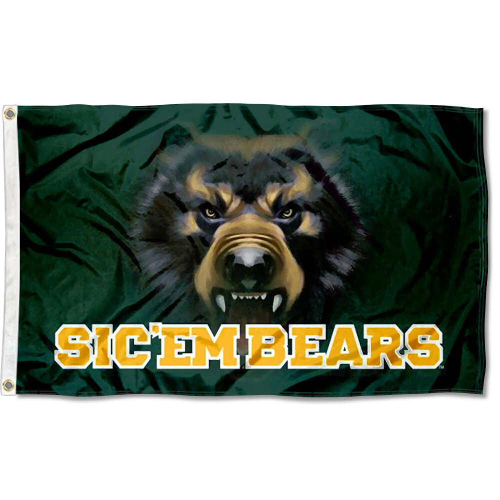 Baylor Bears Bear Eyes 3' x 5' Pole Flag
