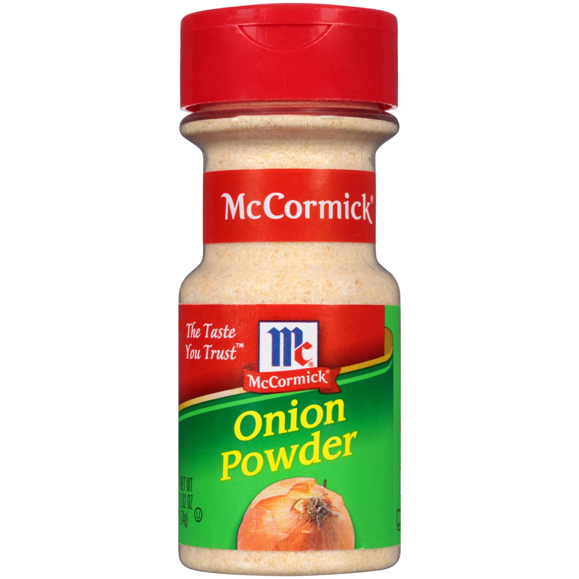 (2 Pack) McCormick Onion Powder, 2.62 oz