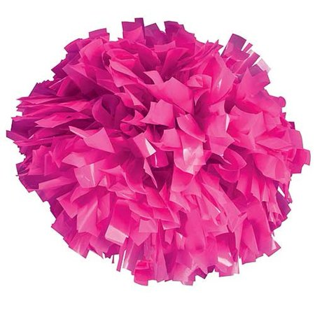 Pizzazz Neon Pink Plastic Cheer Single Pom Pom - Neon Pink Code
