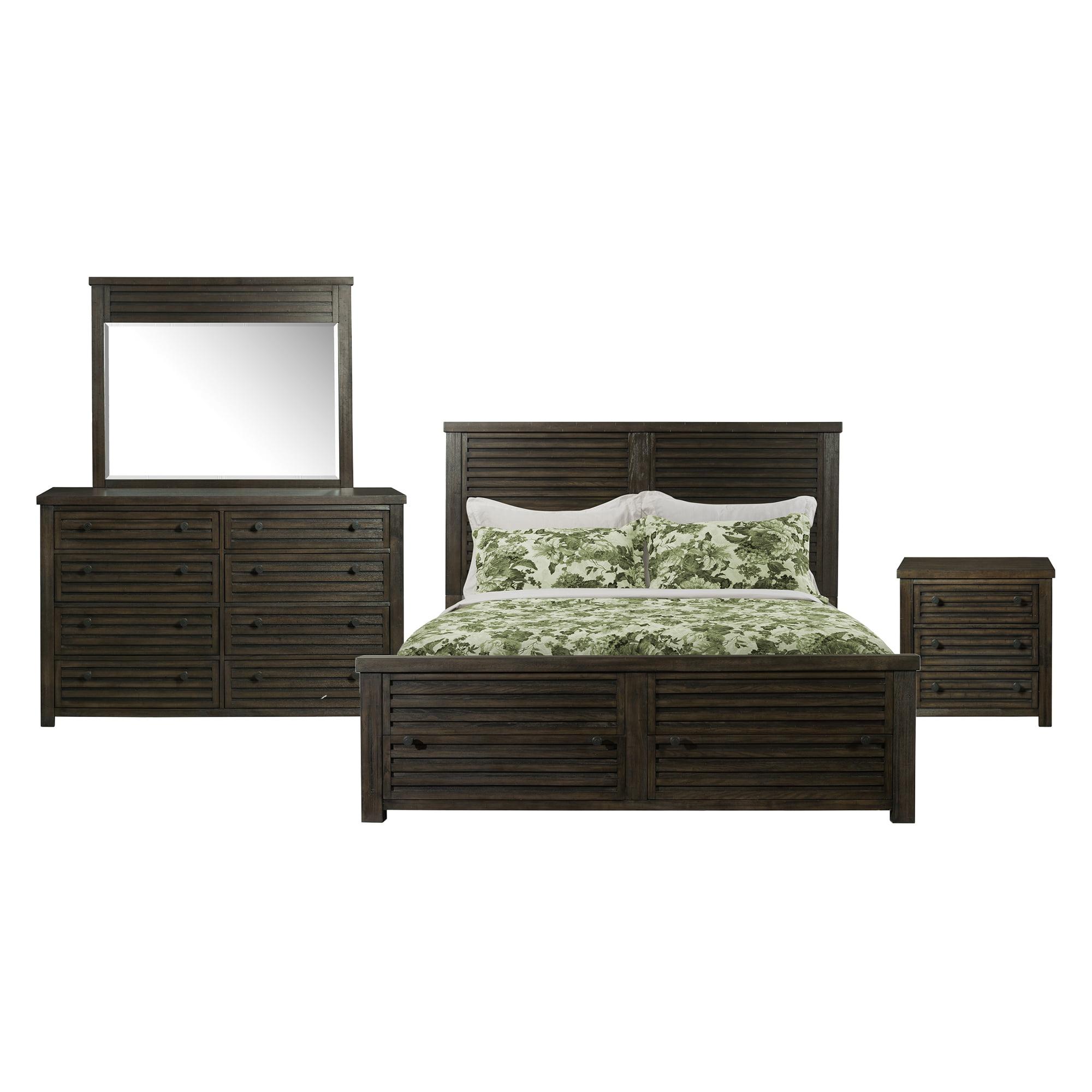 Picket House Furnishings Montego King Storage 4PC Bedroom Set