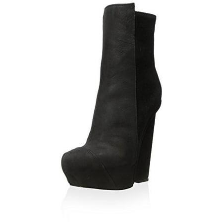 Sonya Blade Boots (Gareth Pugh Women's Low Plain Blade Boot, Black, 38 M)