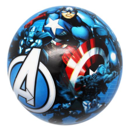 Marvel's Avengers Assemble Small Blue Inflatable Ball (May Ship Deflated)