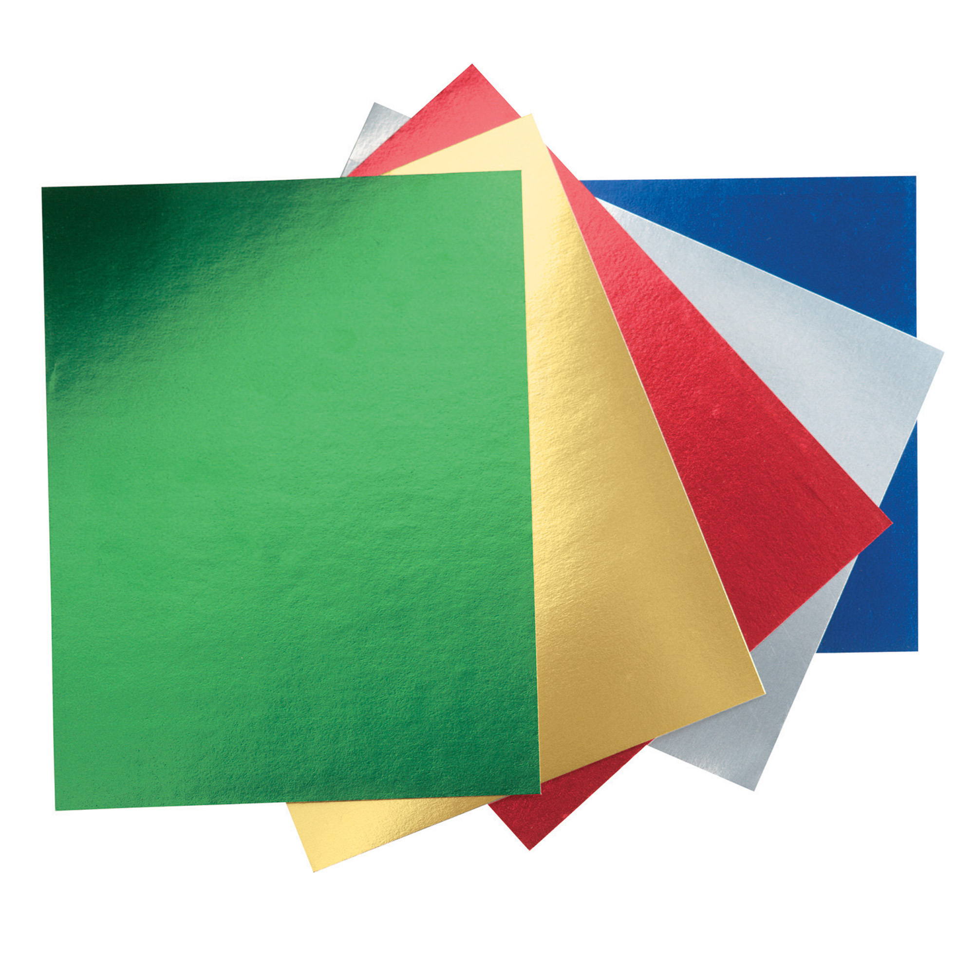 """Pacon® Peacock Metallic Foil Poster Board, 22"""" x 28"""", Assorted Color, 5 Color, Pack of 25"""