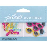Jolee's Dimensional Embellishments-Flip-Flops & Sunglasses