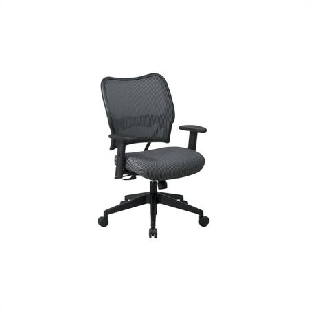 """Office Star SPACE 40"""" Deluxe VeraFlex Office Chair with Fabric Seat (Charcoal) - image 1 de 1"""