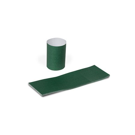 Royal Hunter Green Napkin Bands with Self-Sealing Glue and Bond Paper Construction, Case of 20,000 - Napkin Printing
