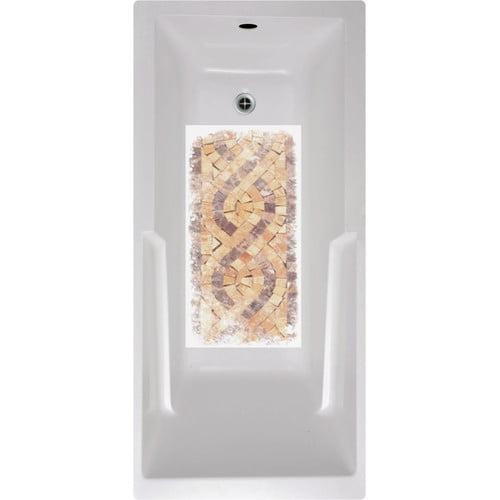 No Slip Mat By Versatraction Mosaic Tiles Bath Tub And