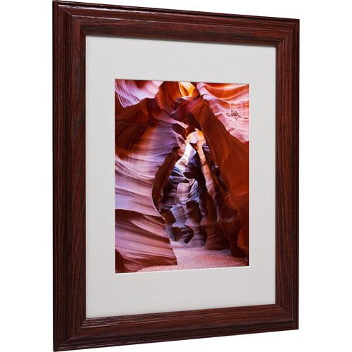 "Trademark Fine Art ""Antelope"" Matted Framed Art by Pierre Leclerc"