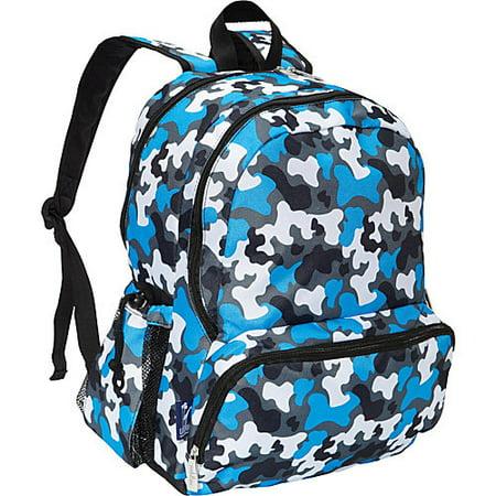 Wildkin Blue Camo 17 Inch Backpack - Sequin Pink Backpack