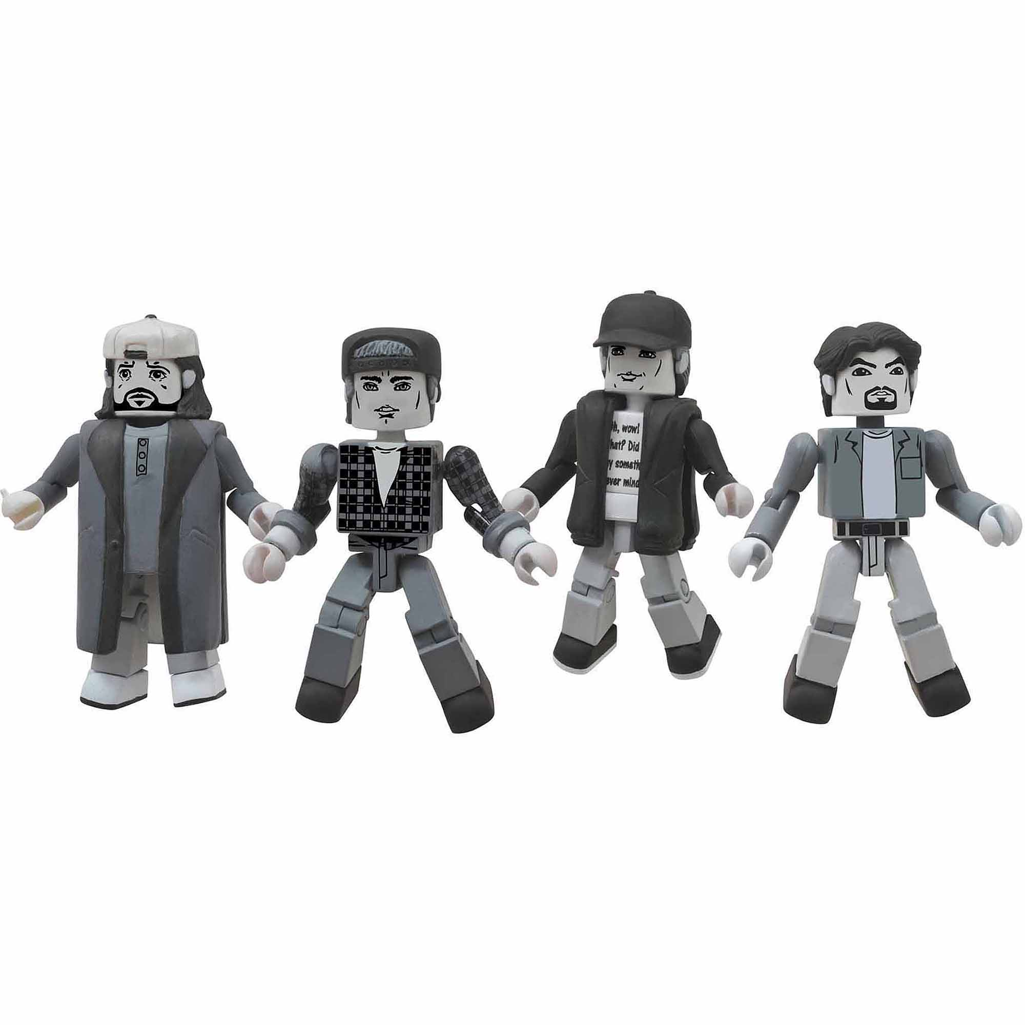 Diamond Select Toys Clerks Minimates 20th Anniversary B&W Box Set