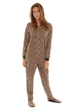 cdccb1876 Onesie Footed Pajamas For Women Breeze Clothing - ViewLetter.CO