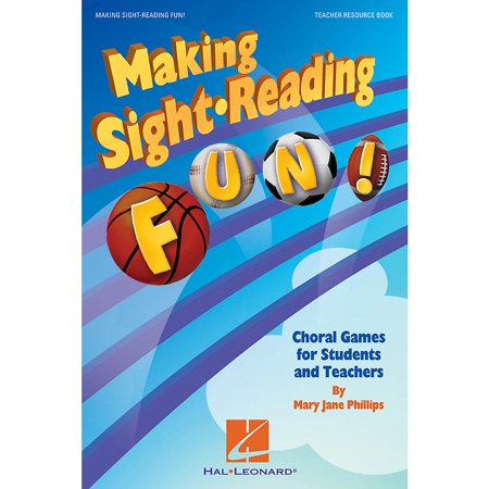 Hal Leonard Making Sight Reading Fun! (Choral Games for Students and Teachers) Book composed by Mary Jane (Choral Sight Reading)