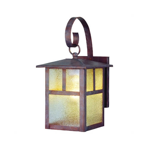 """Westinghouse 6793000 12"""" Tall 1-Light Outdoor Lantern Wall Sconce"""