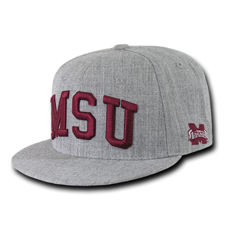 NCAA MSU Mississippi State University Bulldogs Game Day Fitted Caps Hats