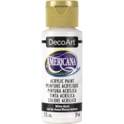 DecoArt Americana Acrylic Color, 2 oz., White Wash